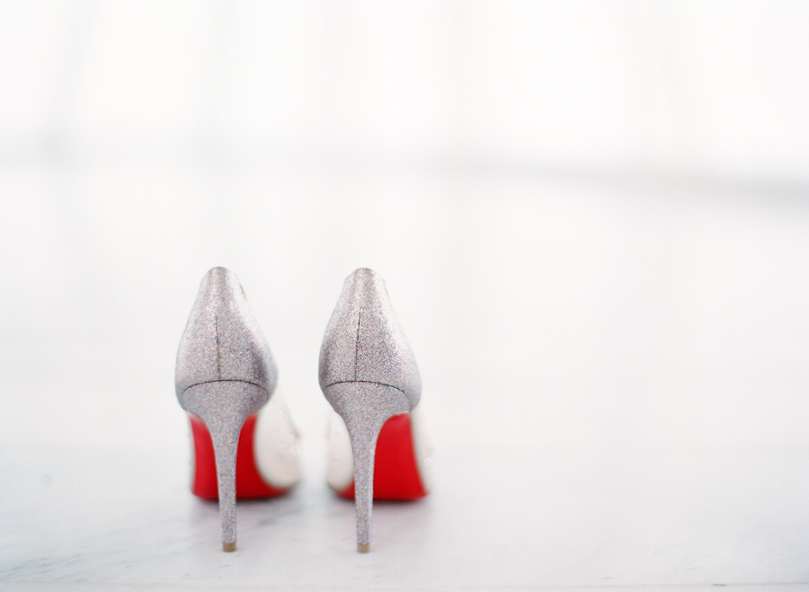 christian louboutins wedding shoes