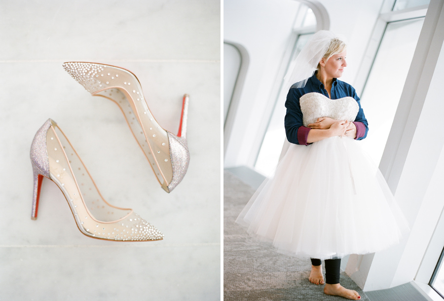 milwaukee art museum wedding christian louboutin