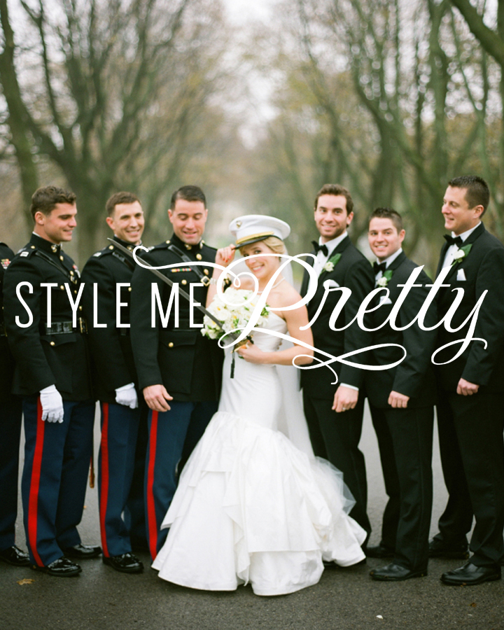 Classic Military Wedding at Milwaukee's Pfister Hotel