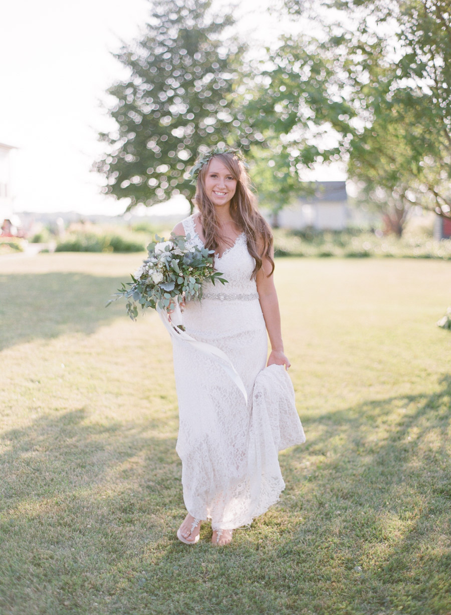 bennet barn wedding bridal portraits