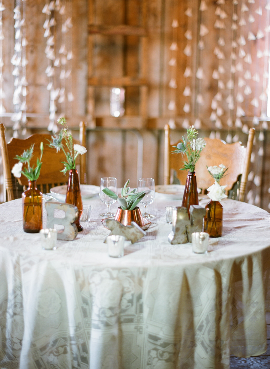bennet barn wedding reception decor