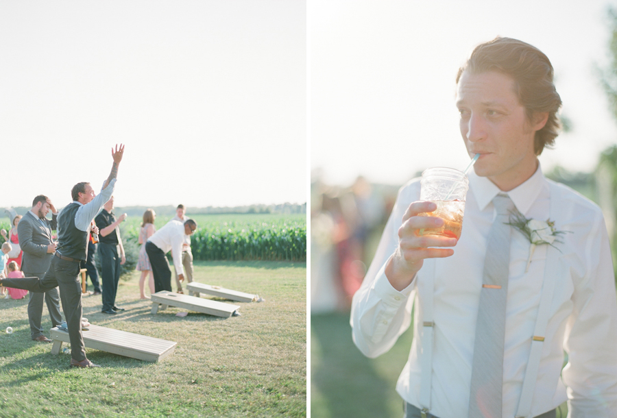 bennet barn wedding cocktail hour