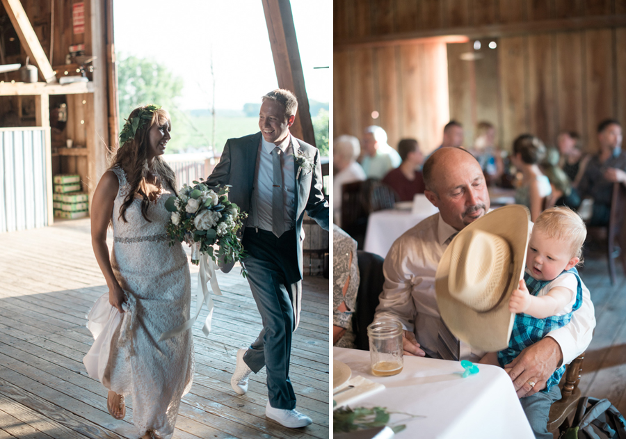 bennet barn wedding reception