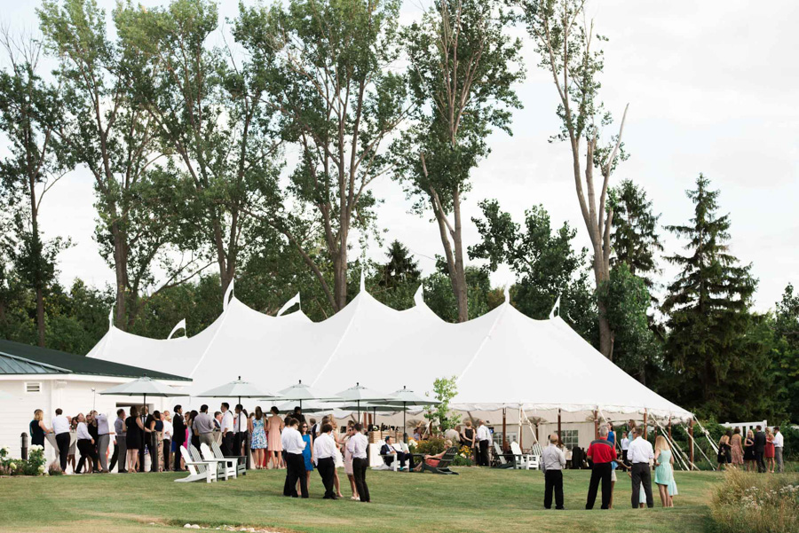 horseshoe bay beach club wedding sperry tent