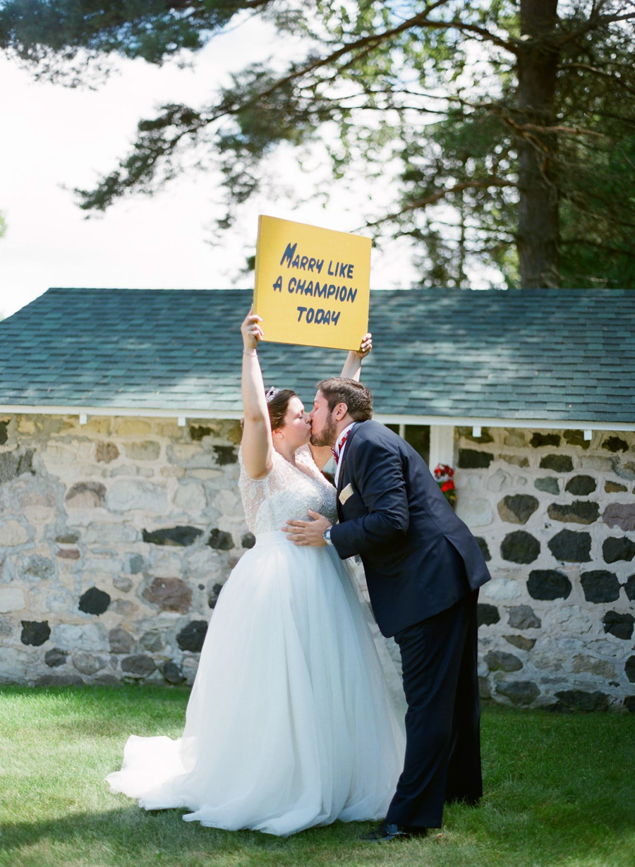 door county weddings first look portraits