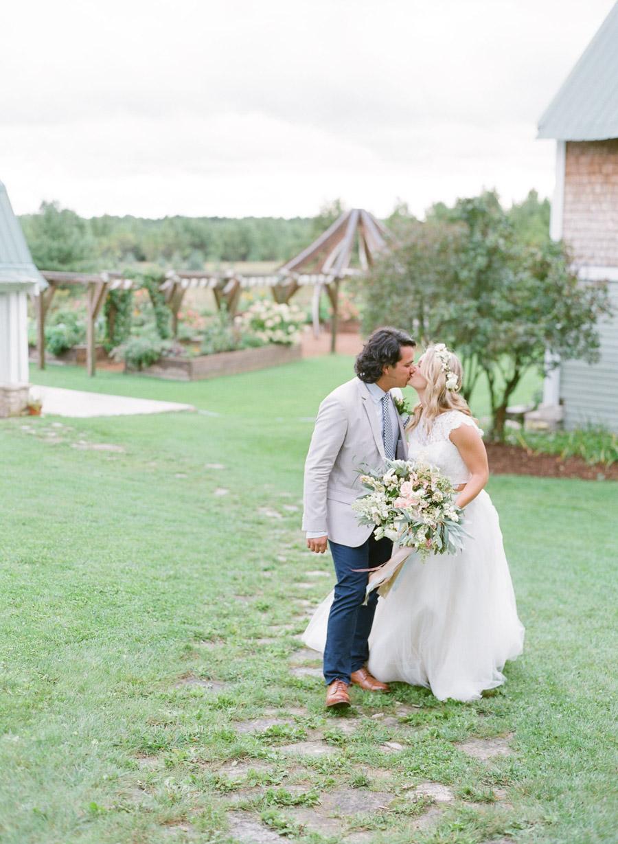 garden gables wedding portraits door county