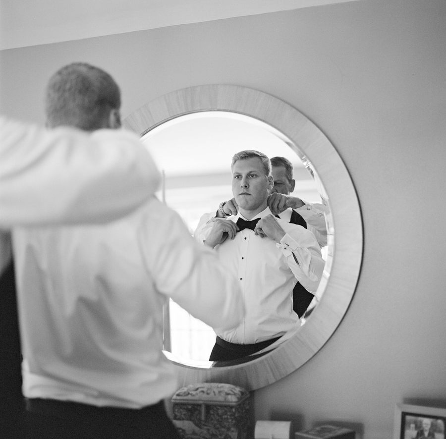wausau wedding groom getting ready