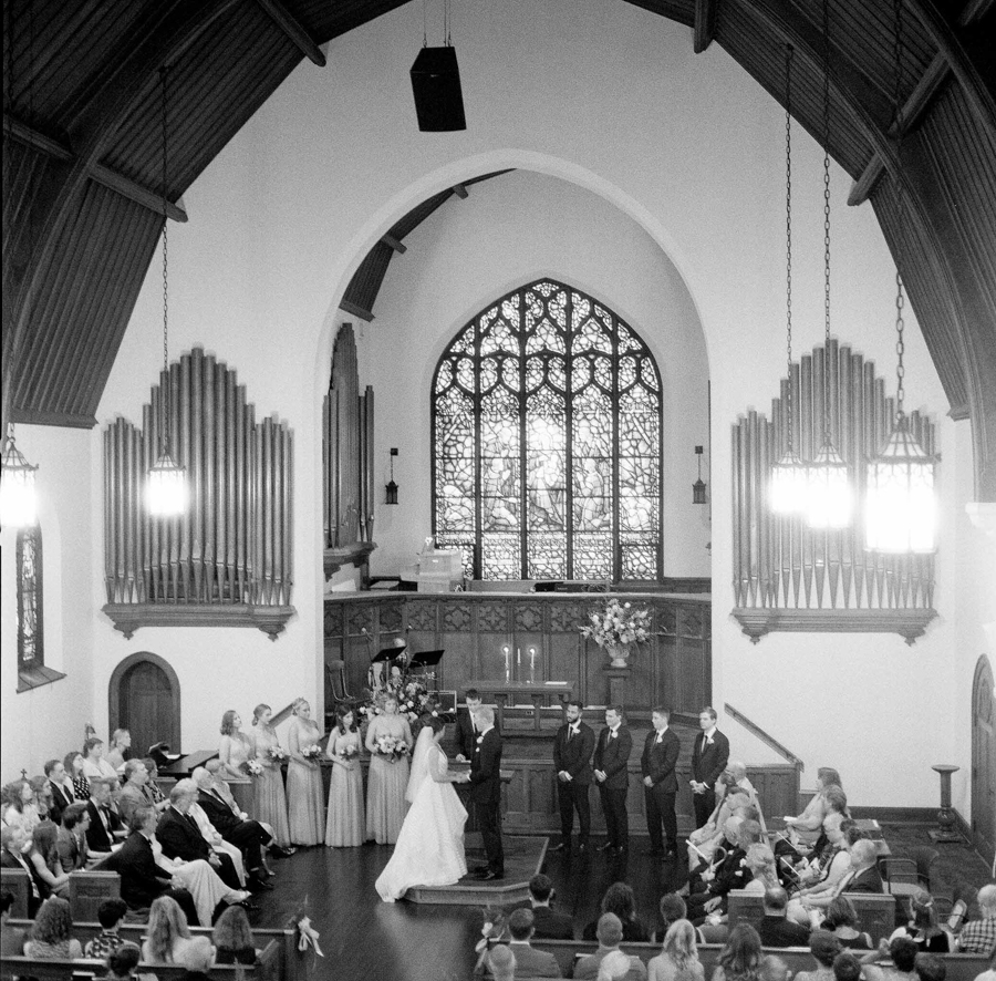 Wausau UU Church ceremony