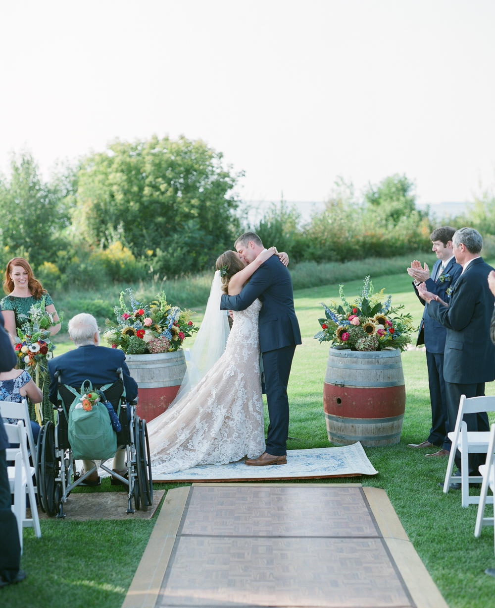 Door County Weddings with outdoor ceremony