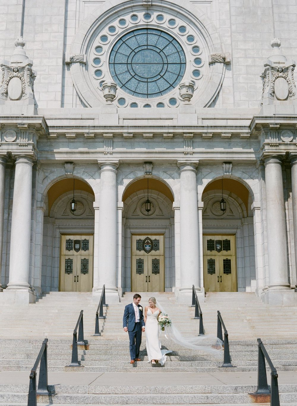 The basilica of saint mary wedding