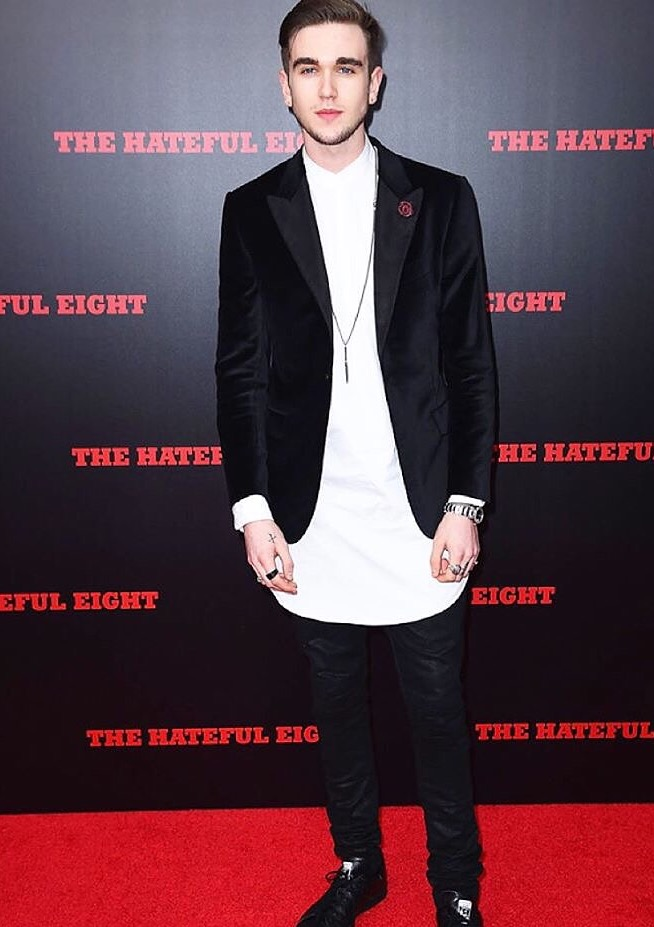 GABRIEL DAY LEWIS THE HATEFUL EIGHT PREMIER