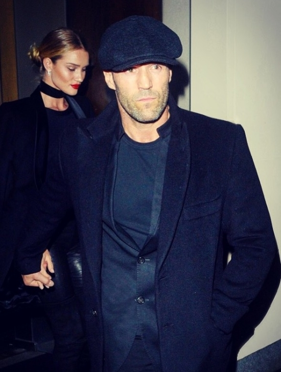 JASON STATHAM CONTEMPORARY JACKET BLACK