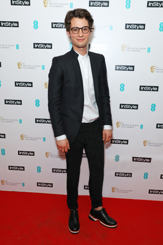JACK BRETT ANDERSON CONTEMPORARY JACKET AND SHIRT INSTYLE BAFTA AWARDS FEB 2017