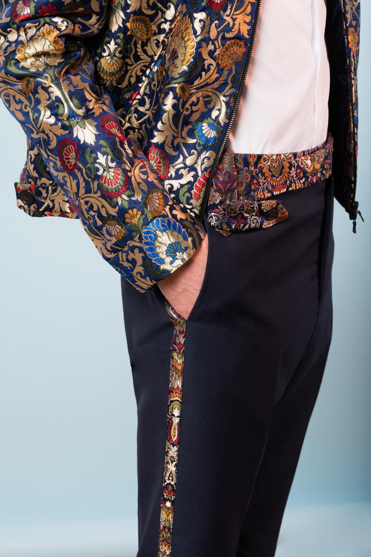 Sari bomber  Sari trousers