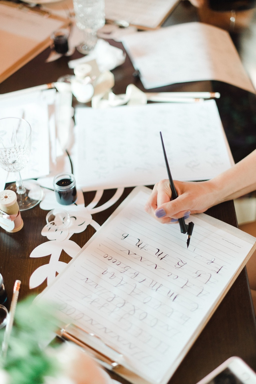 La Petite Bloom_Calligraphy Class