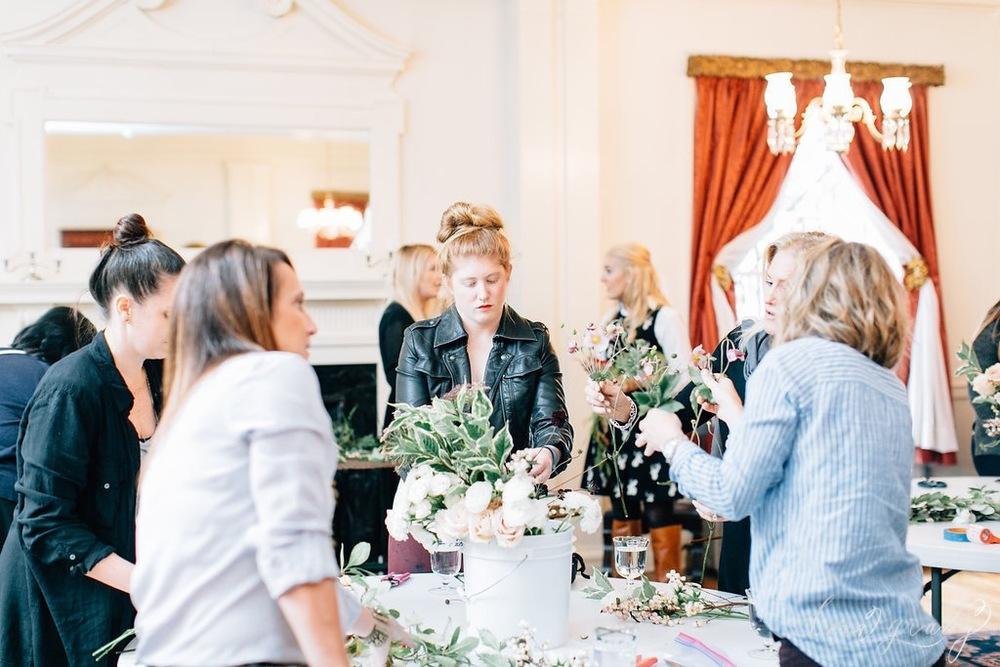floral arranging workshop