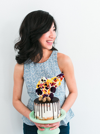 AMANDA NGUYEN, JUST BAKECAUSE Amanda is a self-taught baker from the Bay Area. She has loved baking ever since the 6th grade when she saw her first episode of Martha Stewart. Just Bakecause is her outlet and space where she can dream and bring cakes and sweets to life. She believes that every dessert should look as good as it tastes, so she will rarely use fondant since she personally do not think it tastes very good.  Amanda strives to use the best and highest quality ingredients, and likes to use edible decorating pieces, such as chocolate shards, edible flowers, etc. With everything she creates, she tries to let the flavors and components of the actual dessert shine. Amanda is excited to be preparing desserts for our guests and creating the beautiful dessert bar, which will be a huge component of the styled shoot portion of the workshop!                                     website | instagram