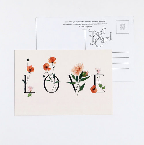 carleigh courey design postcard