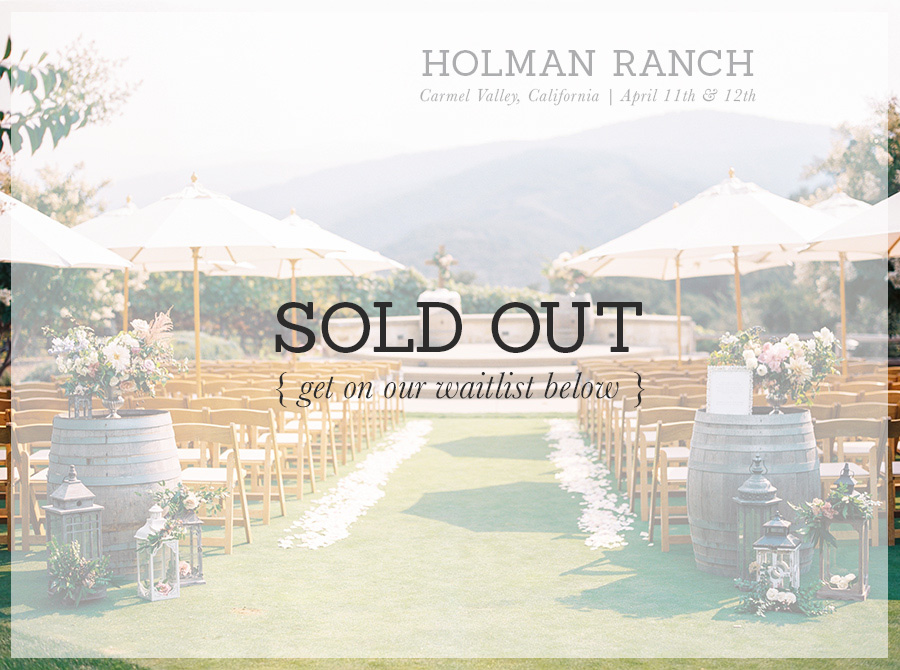 holman ranch bloom bash