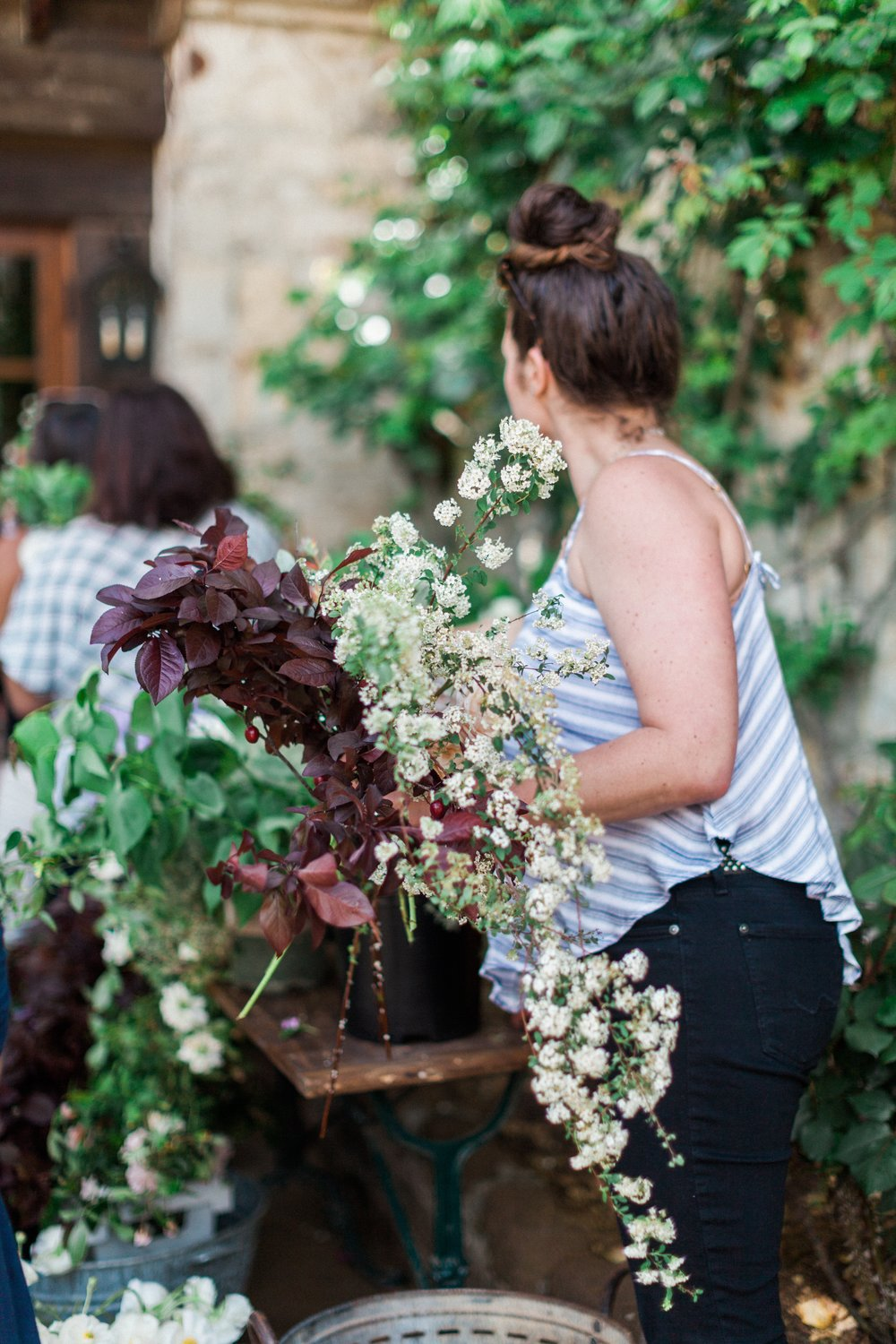 ponderosa and thyme flower workshop