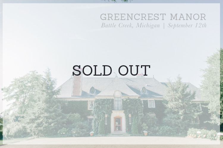 greencrest manor bloom workshop