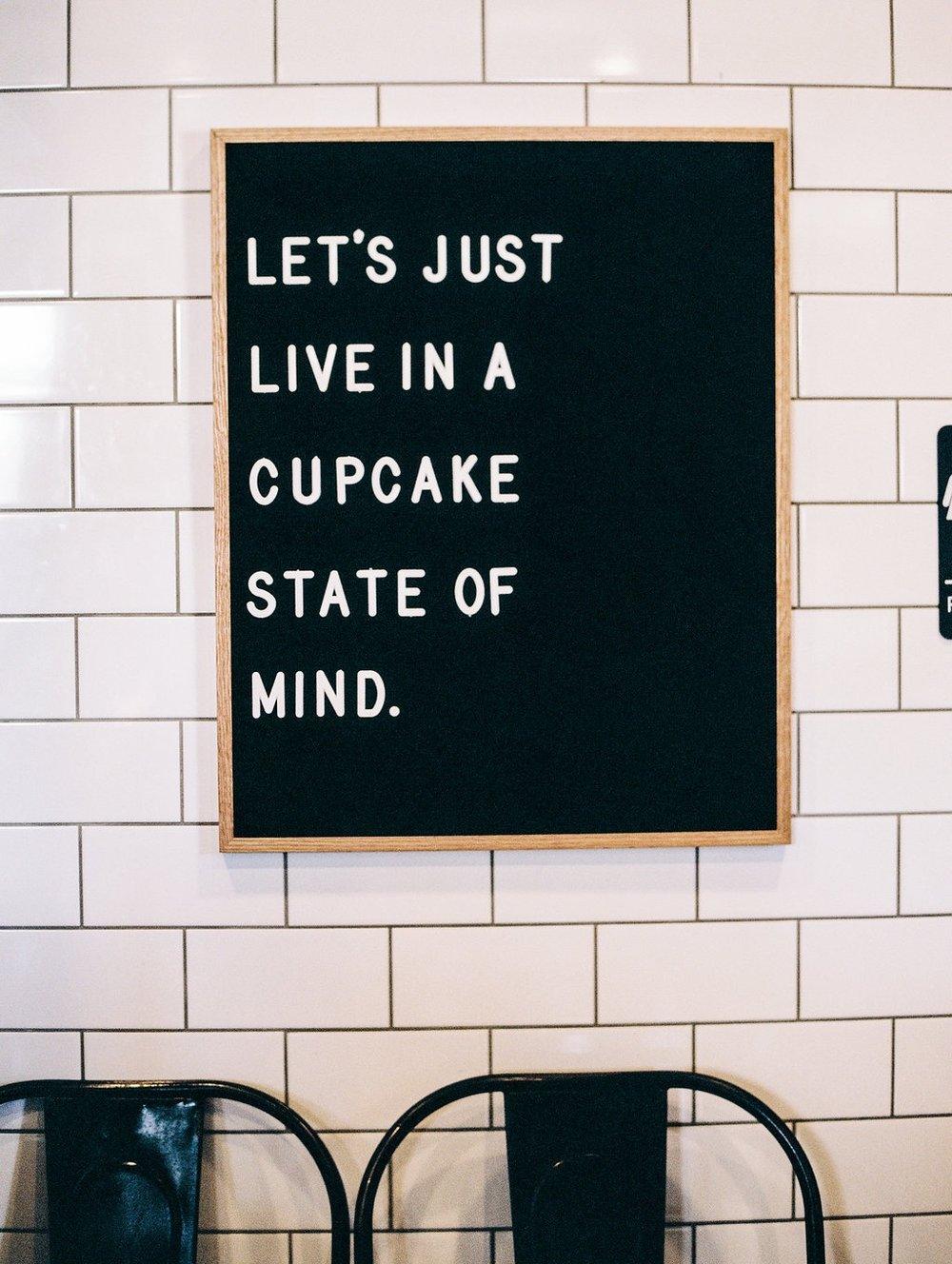 cupcake state of mind