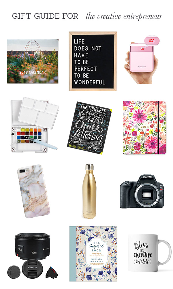 gift guide for creative Entrepreneurs
