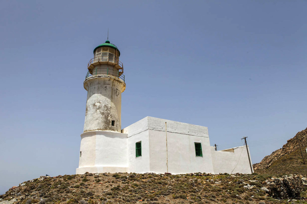 The Kavo Papas Lighthouse