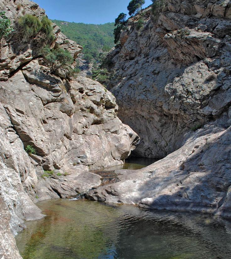Chalari River Canyon, Ikaria