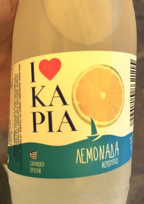 Look for Ikarian brands for lemonade!