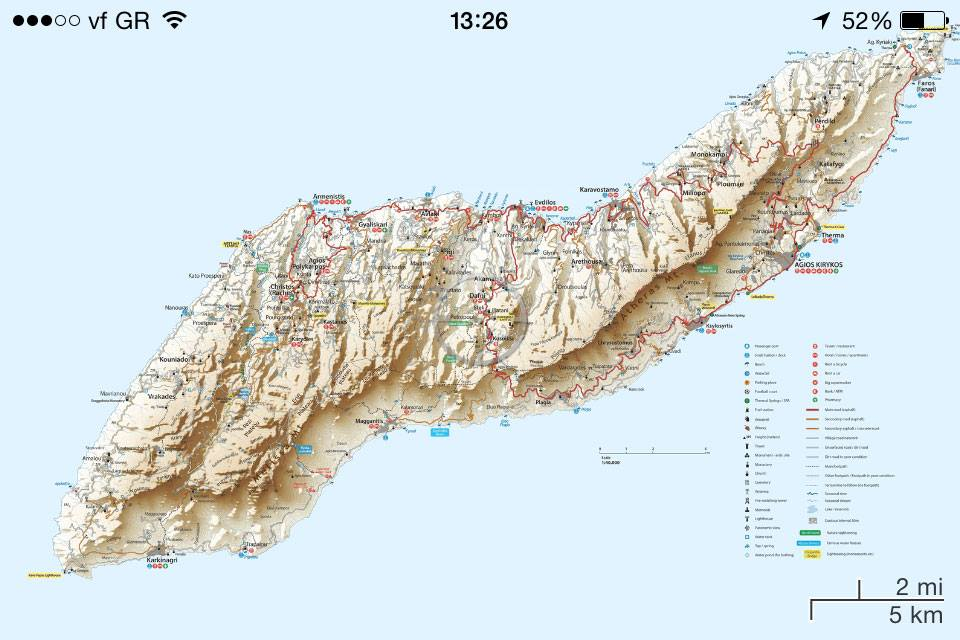 Ikaria Digital Map For Mobiles And Tablets Ios Android