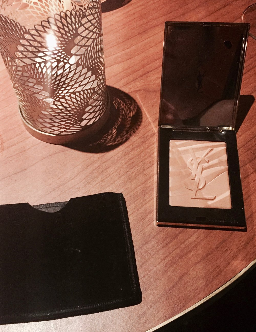 Yves Saint Laurent, Les Sahariennes Bronzing Stones.  I really love the box and the cover case that it comes with too.