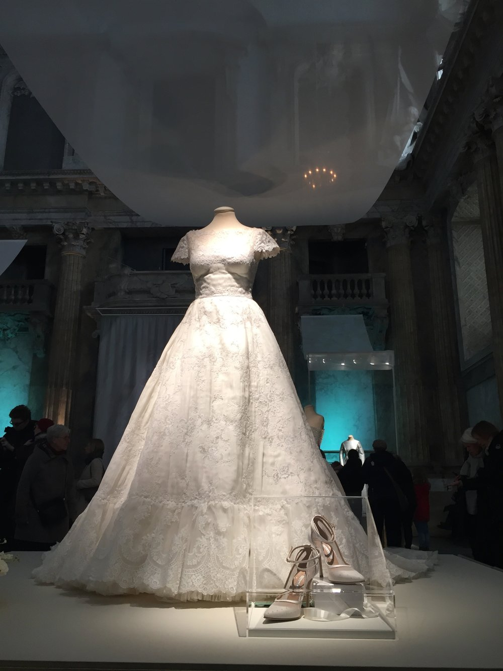 Princess Madeleine's wedding dress. Designer: Valentino
