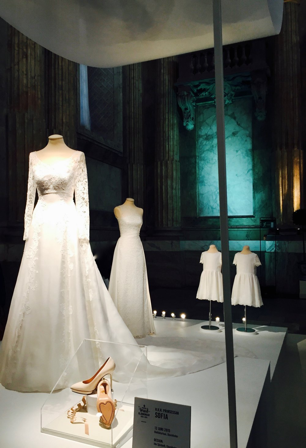 Princess Sofia's wedding dress. Designer: Ida Sjöstedt