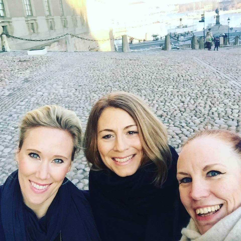 With Kristina & Anneli
