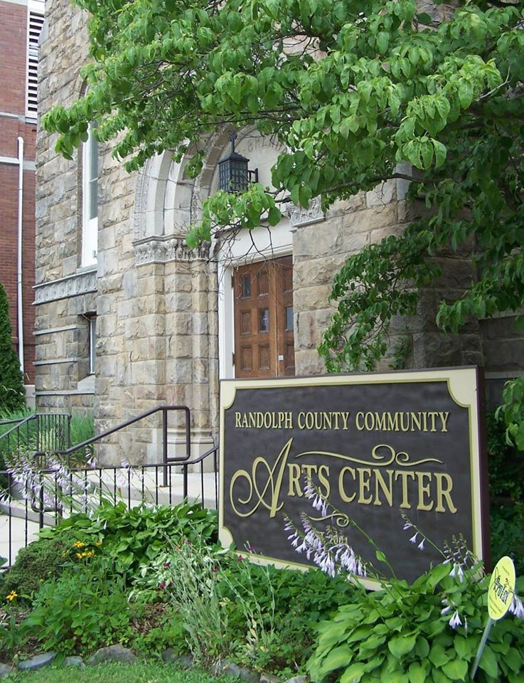 The Arts Center, front entrance facing Randolph Avenue