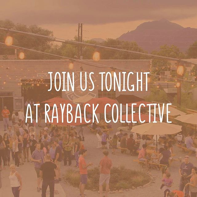 Come hang out with us at 6:30!