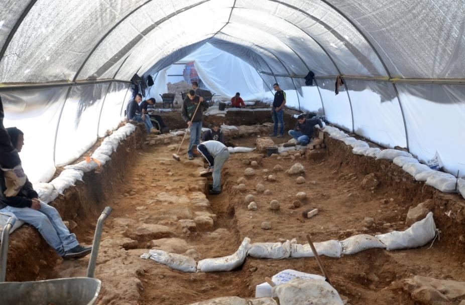 (Photo:Yoli Shwartz/ Israel Antiquities Authority)