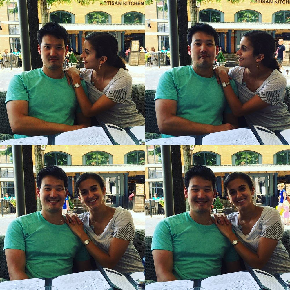 Jimmy and Gabi.