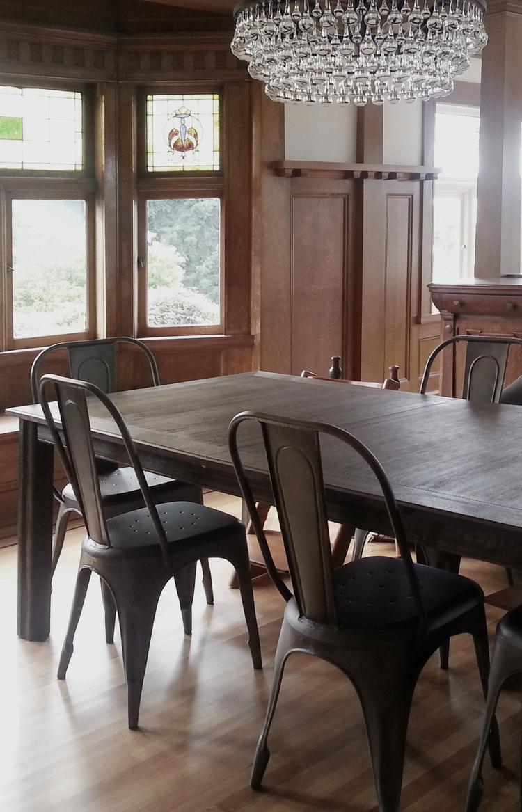 Phinney Ridge Craftsman Dining Room