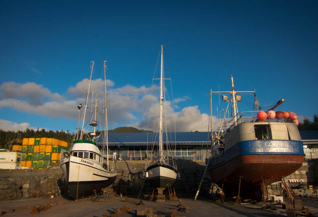 On the hard in Sitka