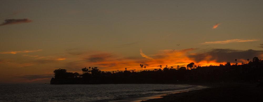 Sunset at Santa Barbara