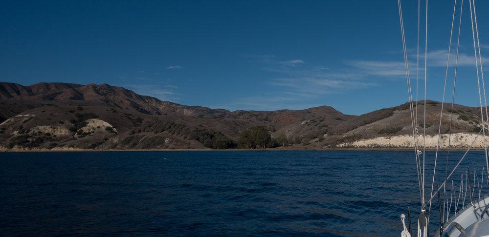 Smuggler's Bay, Santa Cruz Island