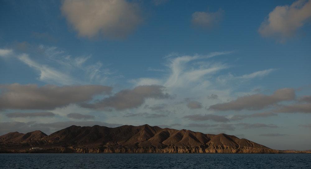 Bahia Tortuga. Much of the Baja coastline was like this - austere, remote, beautiful.