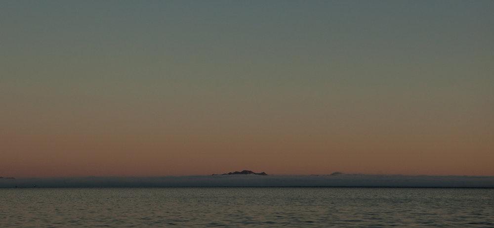 Looking south across Bahia Santa Maria