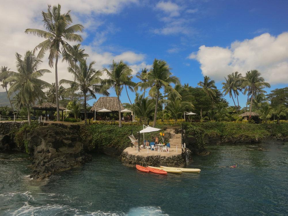 Paradise resort, Taveuni.