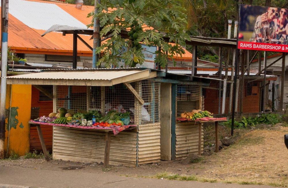 Fresh market, Somosomo Fiji