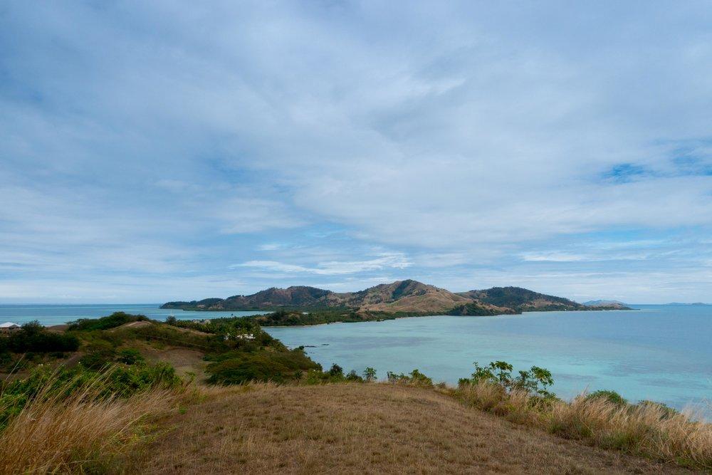 View of Malolo Lailai Island.