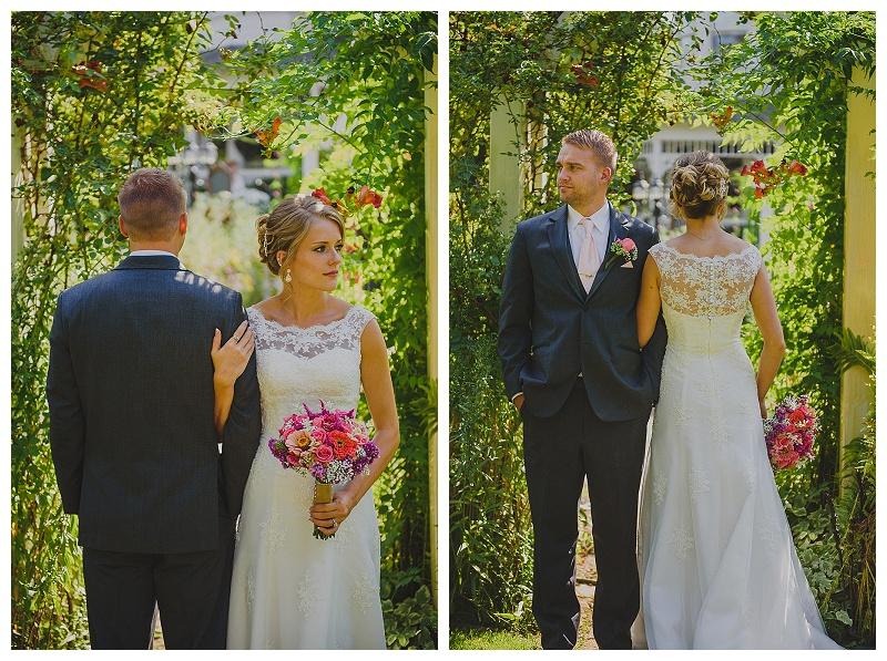 Pullman wedding, backyard wedding, DIY wedding