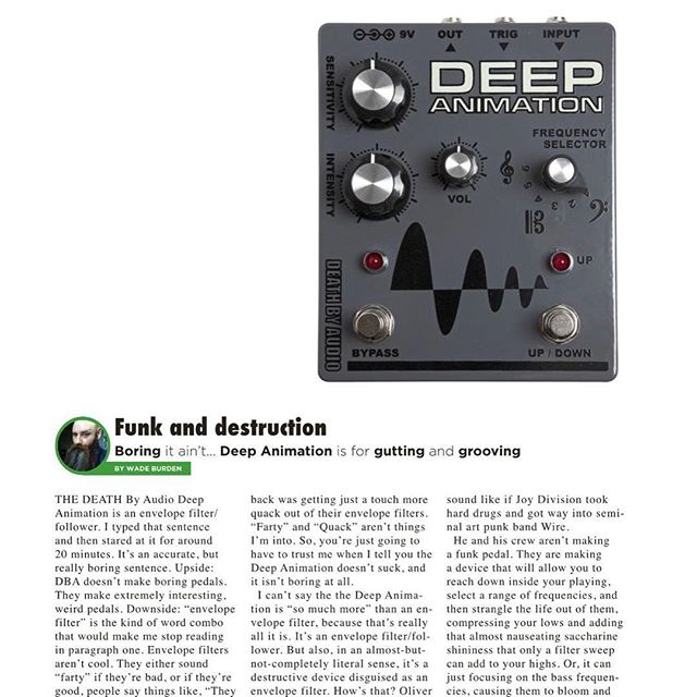 I did a thing!  Go read it!  But ya know, use your ears! Make your own decisions!  @gearphoria @deathbyaudioeffects